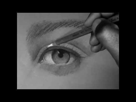 learn how to draw a realistic eye part1