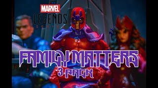 Marvel Legends X-Men Family Matters 3 Pack - Magneto - Quicksilver - Scarlet Witch