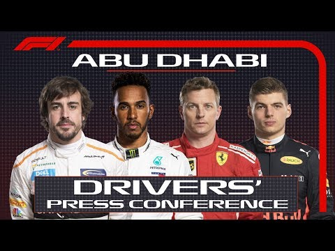 2018 Abu Dhabi Grand Prix: Press Conference Highlights