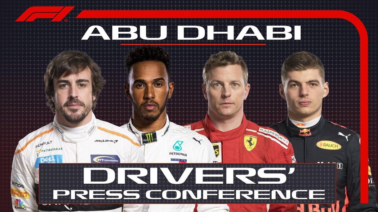 2018 Abu Dhabi Grand Prix: Press Conference Highlights