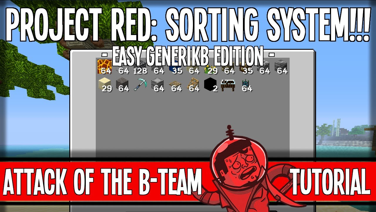 Intelligent Sorting System ProjectRed GenerikB Edition