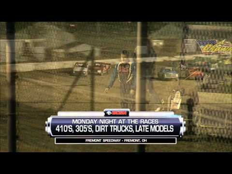 Sprint Car Racing at Fremont Speedway Tank Meats Night 4-23-2016