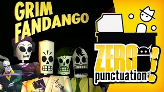 Grim Fandango - Does It Hold Up? (Zero Punctuation) (Video Game Video Review)