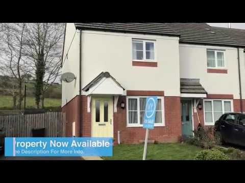 Cookworthy Close - 2 Bedroom End Of Terrace House, For Sale Near St. Austell, Cornwall