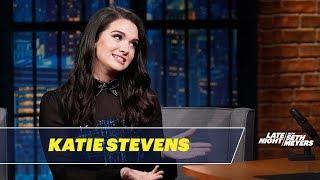 Katie Stevens Tells Her Adorable Engagement Story