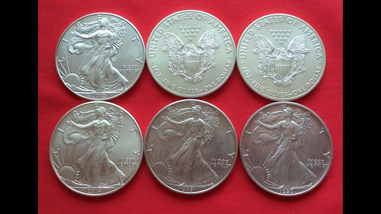 1 Oz Fine Silver One Dollar Usa Инвестиционный