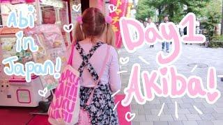 One of Abipop's most viewed videos: Abipop in Japan ♬*゜| Day 1 - Akihabara | Abipop