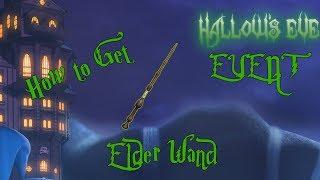 How to Get the Elder Wand - ROBLOX HALLOWS EVE EVENT (Darkenmoor)