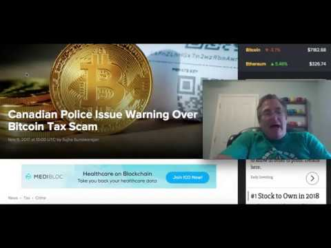 Canadian Police: Bitcoin Tax Scam!