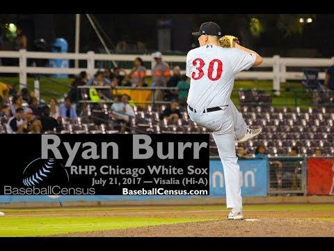 Ryan Burr, RHP, Chicago White Sox — July 21, 2017