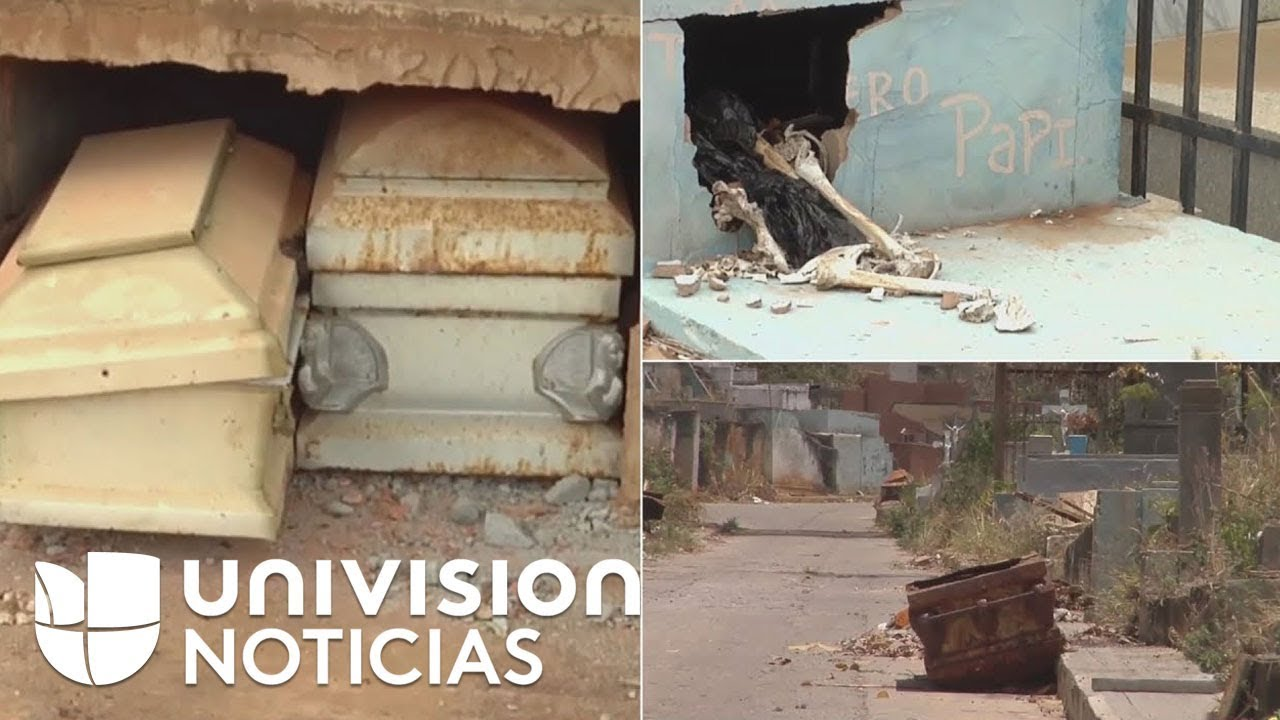 Saquean tumbas en Venezuela: buscan objetos de valor, huesos para vender y restos destinados a ritos