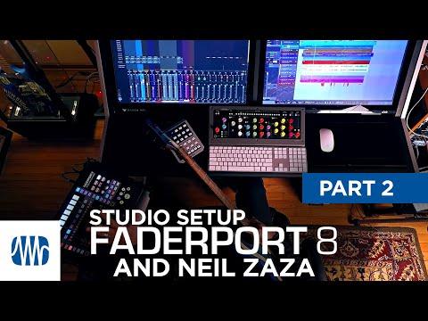 PreSonus—Neil Zaza on the Faderport 8 Part 2: Studio Setup