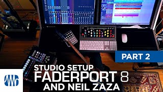 PreSonus—Neil Zaza on the Faderport 8 Part 2: Studio Setup