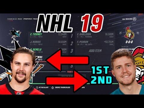 Trade Breakers: NHL 19 l ERIK KARLSSON TRADED TO SAN JOSE!