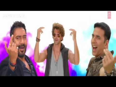 Birju full song !!Amitabh!! ajay devgan, akshay, ranveer, prabhu deva and ganesh  Hey Bro movie
