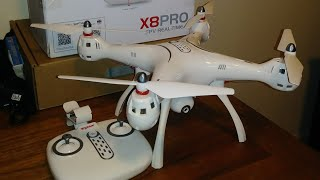 Syma x8 pro with GPS full review & flight failed/Faulty&Dangerous quadcopter from manufacturer!!!