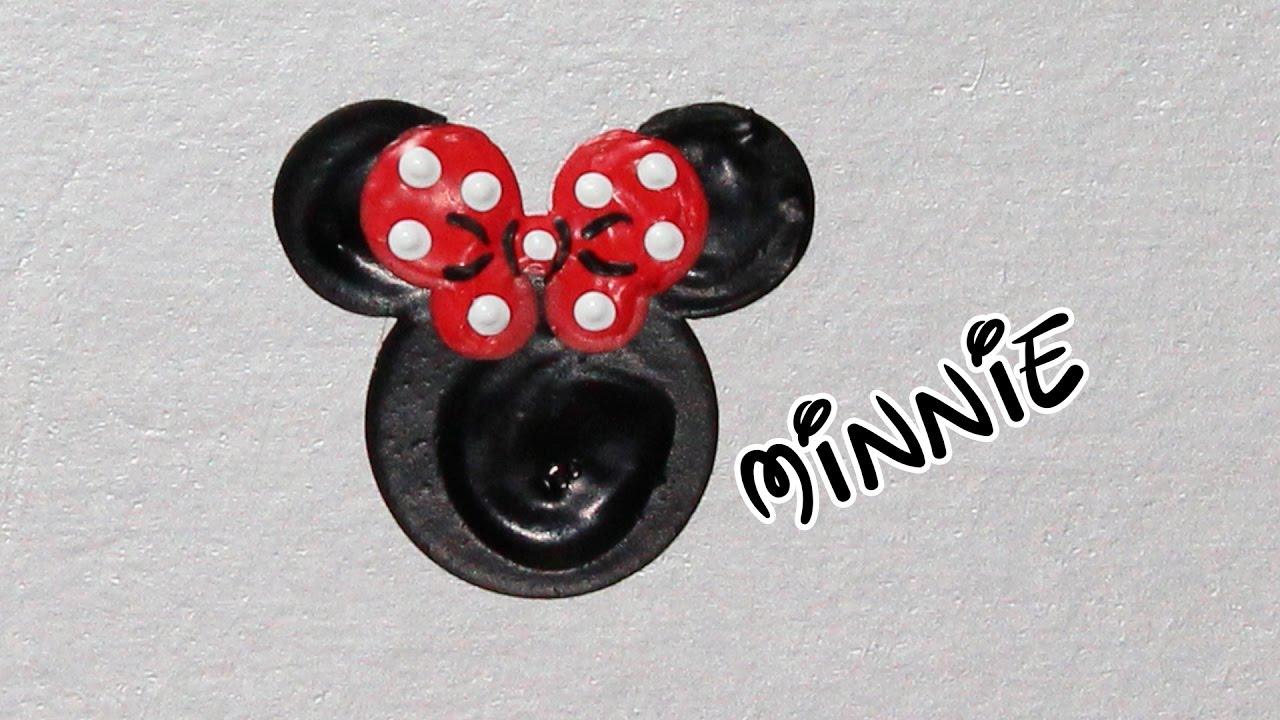 Artesanato Suely Mooca ~ Como Desenhar Orelhas Minnie Unhas da Lalá YouTube