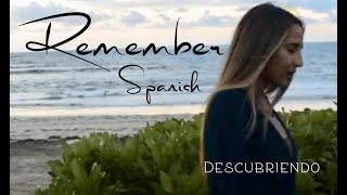 Remember - Lauren Daigle (ESPAÑOL) | SPANISH version (Acoustic cover with lyrics) | DESCUBRIENDO