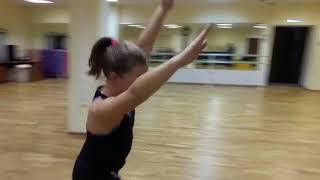 Эстрадно-спортивные танцы открытый урок 27.12.18