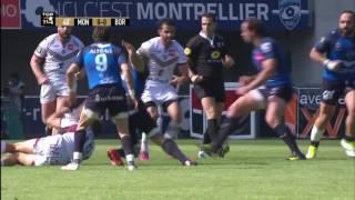 TOP 14 - Résumé Montpellier-Bordeaux: 19-16 - J24 - Saison 2015/2016