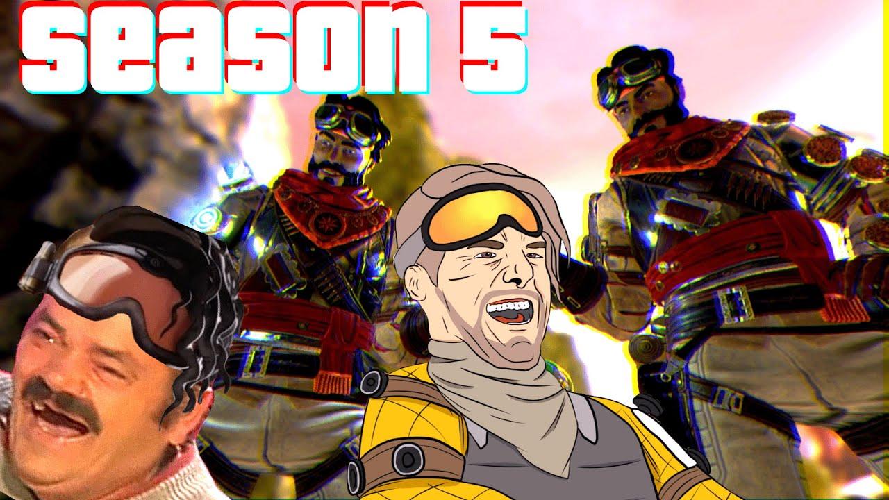 Apex Legends Mirage MONTAGE *NEW* Season 5 - YouTube