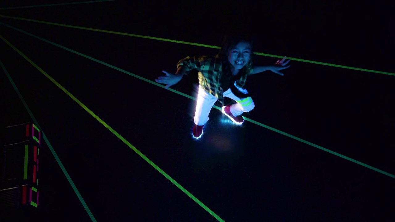 3ac82053 Neon KYX - LED Light up shoes by Neon - YouTube