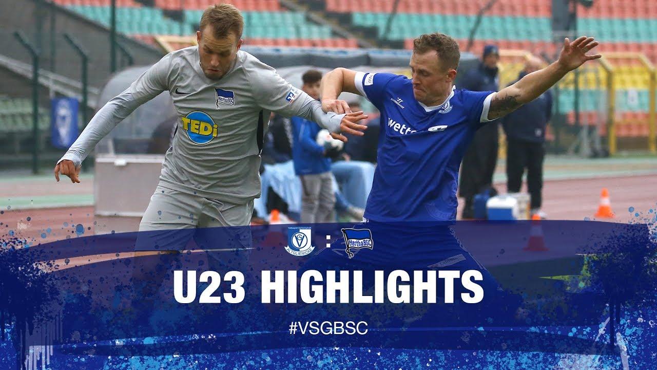 Highlights Vsg Altglienicke U23 Hertha Bsc