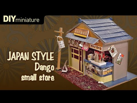 DIY Miniature House JAPAN Small Store By Whitehousehh