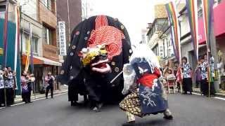平成22年 全国獅子舞フェスティバル 阿智黒丑舞 thumbnail