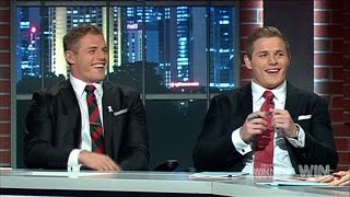 Spontaneous Sing-Off | NRL Footy Show | Ep18 29-06-2016