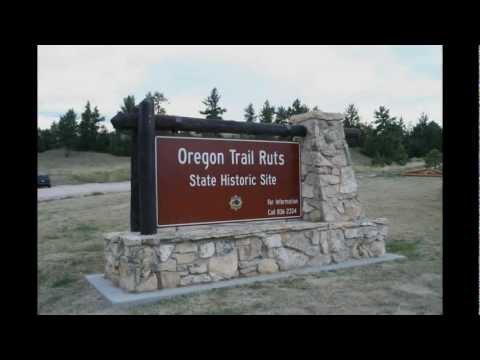 Oregon Trail Ruts State Historic Site,...Wyoming!