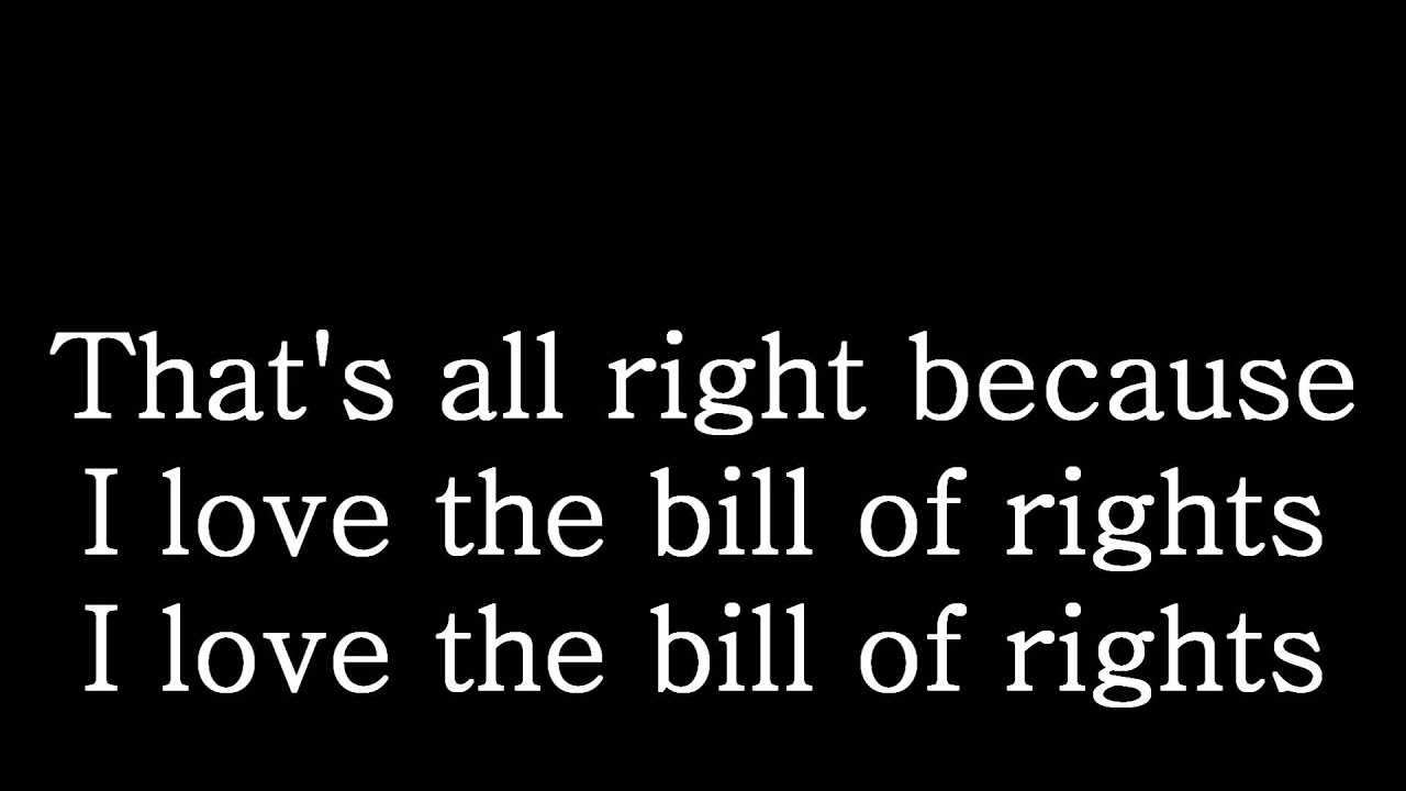 how to make a bill of rights