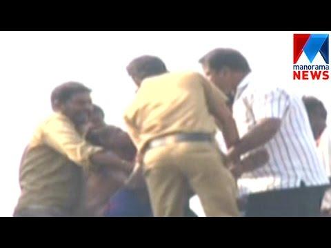 suicide attempt in Aluva    Manorama News
