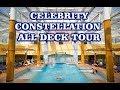 Celebrity Constellation deck plan tour