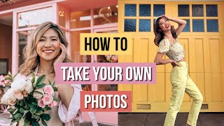 How to Take Your Own Pictures 📸12 Pose Ideas!