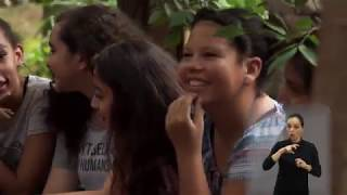 Jornal Acontece - Oficina das Meninas na Roca de Fogo
