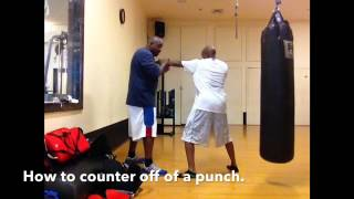 How to counter a punch.