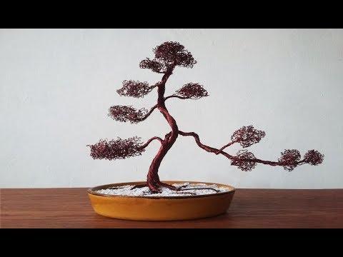How to make Wire Tree (Bonsai)