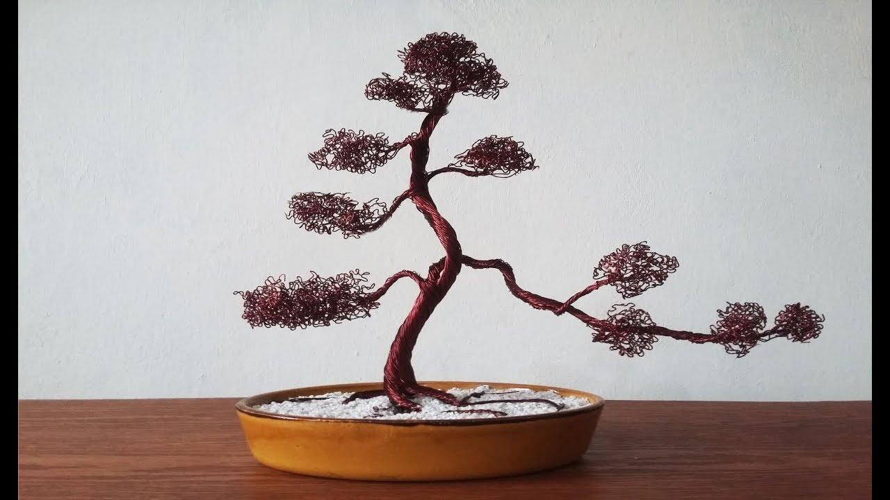 How to make Wire Tree (Bonsai) - YouTube