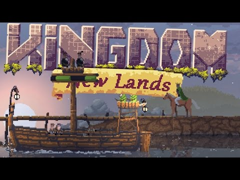 Kingdom New Lands Gameplay -  Building My Ship - New Lands Ahoy! - Let's Play Kingdom New Lands