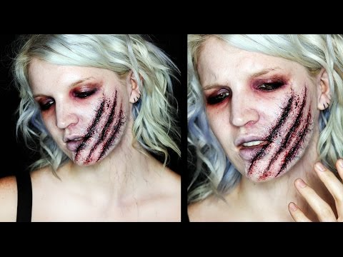 Poisoned Claws SFX Infected Wound Makeup Tutorial | 31 Days of Halloween
