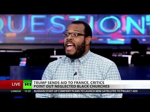 Trump aids Notre Dame, neglects Black churches