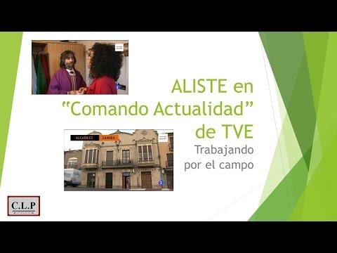 Aliste (Zamora) en Comando Actualidad de TVE  'Trabajando por los pueblos'