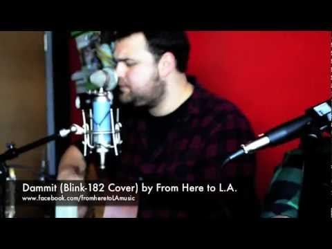 From Here to L.A. -Dammit [Acoustic Cover] Blink 182 w/ FREE DOWNLOAD [WATCH IN HD]