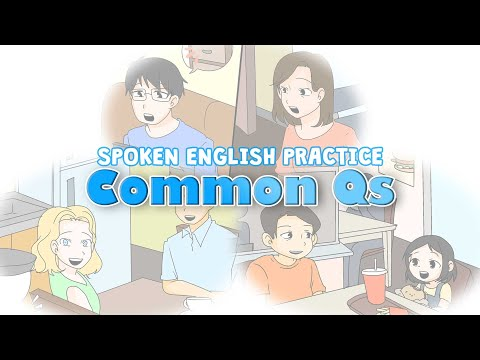 English SPEAKING Practice - Improve Your Conversation Skills with Questions_SⅡ#7 (Part 1)