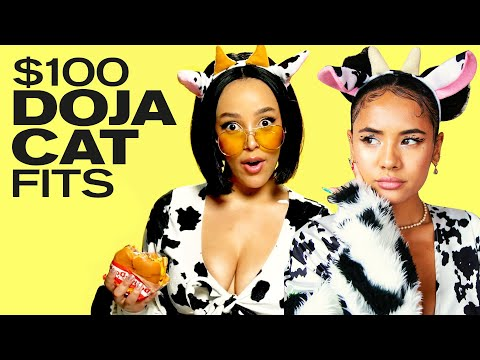 Recreating Doja Cat's Most ICONIC Looks On A $100 Budget! ~ NAYVA Ep #35 ~ FASHION & BEAUTY