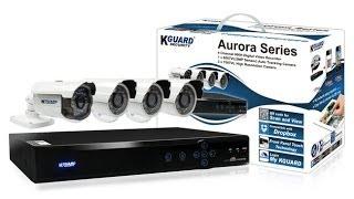 KGUARD DVR AR421 Security System Aurora sbeity computer