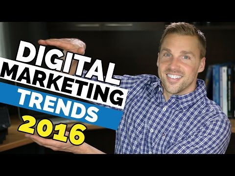 Digital Marketing Trends 2016 – Top 5 Marketing Trends For 2016