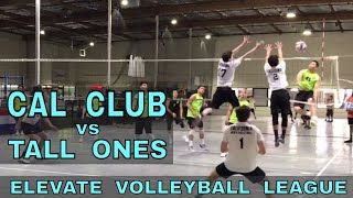 Cal Club vs Tall Ones - EVL #4, Playoff - Match 2 (Elevate Volleyball League 2018)