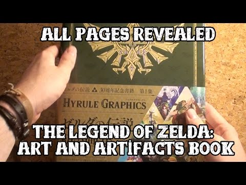 [Legend of Zelda] Art & Artifacts book - All pages revealed